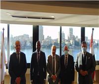 السويدي يستقبل وامكيلي ميني سكرتيرعام منطقة التجارة الحرة الافريقية
