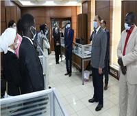 وزارة الداخلية تستقبل وفداً من الإعلاميين الأفارقة
