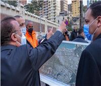 محافظ الإسكندرية يتفقد مسار «مترو أبوقير» تمهيدًا لبدء تنفيذ المشروع
