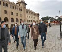 محافظ الغربية يتابع أعمال تطوير ميدان المحطة والسيد البدوي بطنطا
