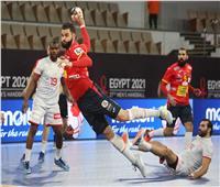إسبانيا تتقدم على تونس 17/14 في الشوط الأول