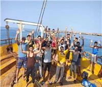 الإفراج عن مركب مصرية كانت محتجزة بالسعودية وعليها 35 صياداً