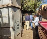 محافظة أسوان تتابع أعمال التجديد والتطوير لمحول كهرباء الكلح