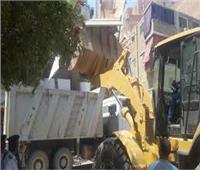 استمرار حملات رفع الاشغالات والباعة الجائلين بمدينة شبين القناطر