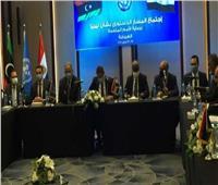 نجاح اجتماعات المسار الدستوري الليبي بالغردقة..وتوقيع اتفاق بشأن الاستفتاء