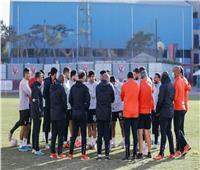 موسيماني يحاضر لاعبي الأهلي استعدادًا لمواجهة المقاولون