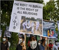 تواصل إحراق جثث موتى كورونا في سريلانكا يشعل غضب المسلمين