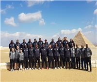 منطقة آثار الهرم تستقبل أعضاء المنتخب الألماني لكرة اليد| صور