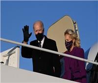 جو بايدن يصل إلى مبنى الكونجرس لبدء مراسم التنصيب