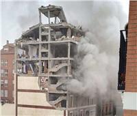 مقتل ١٢على الأقل في انفجار مبنى بوسط مدريد