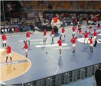 مونديال كرة اليد 2021  الشوط الأول مصر تتقدم على روسيا