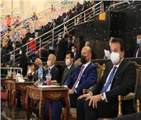 وزير الرياضة يشهد مباراة مصر وروسيا ببطولة العالم لليد بصالة ستاد القاهرة