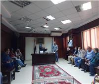 معاينة محطات رفع الصرف الصحي داخل «قرى المبادرة الرئاسية» بالأقصر