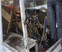 مصادرة 25 شيشة وتحرير محاضر غلق للمقاهي المخالفة بشبرا الخيمة