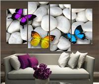 طاقة المكان| أناقة ديكورات «الفراشات» في المنزل