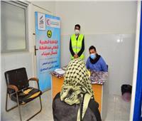 قافلة تحيا مصر الطبية تواصل عملها بمستشفى الشيخ زويد المركزي.. صور
