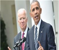 رغم مشاركته حفل التنصيب.. باراك أوباما يغرد مهنئا جوبايدن