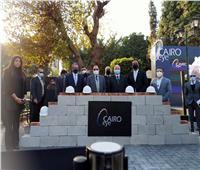 مستشار الرئيس للتخطيط يضع حجر أساس عجلة «عين القاهرة»
