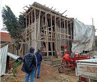 إيقاف أعمال البناء المخالف ومصادرة المعدات بالإسكندرية