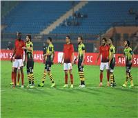 انطلاق مباراة الأهلي والمقاولون العرب في الدوري