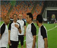 مدرب منتخب مصر في لقاء الأهلي والمقاولون العرب