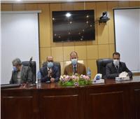 تكريم وكيل وزارة الصحة والكوادر الطبية المتميزة بأسيوط