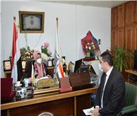 جامعة أسيوط تتابع تنفيذ بروتوكول التعاون مع وزارة التضامن