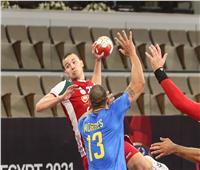 مونديال اليد | المنتخب المجري يفوز على راقصي السامبا في الشوط الأول 16-11
