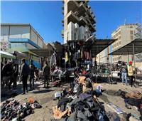 فيديو.. لحظة وقوع انفجار سوق بغداد