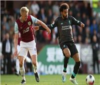 محمد صلاح احتياطيًا في مباراة ليفربول أمام بيرنلي بالبريميرليج