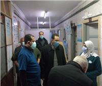 مرور مفاجئلوكيل وزارة الصحة بالمنوفية على مستشفى الشهداء المركزي