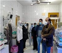 «فريق صحة قنا» يتفقد الخدمات الطبية بمستشفى دشنا المركزي
