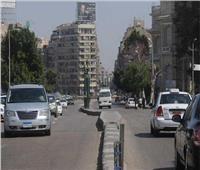 انتظام الحالة المرورية وسيولة بالطرق في القاهرة والجيزة
