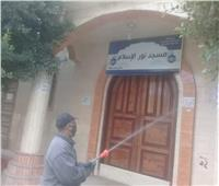 صور| تطهير الموقف الجديد و11 مسجدا بالإسكندرية لمواجهة كورونا