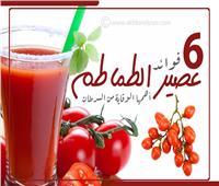 إنفوجراف | فوائد عصير الطماطم.. أهمها الوقاية من السرطان