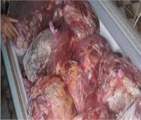 أمن القليوبية يضبط 2.7 طن مقطعات لحوم فاسدة