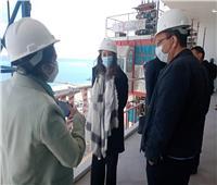 القنصل العام الفرنسي بالإسكندرية يتفقد مشروعات مدينة العلمين الجديدة