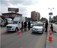 576 مخالفة وإيجابية 4 سائقين لتحليل المخدرات في حملة مرورية بأسوان