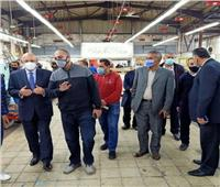 رئيس «القابضة لمصر للطيران» يتفقد مبنى المطبعة الفنية