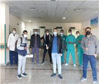 ارتفاع عدد المتعافين من فيروس كورونا بقنا إلى 70 حالة| صور