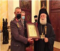 البابا ثيودروس الثاني يستقبل رئيس الأركان العامة للدفاع اليوناني