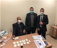 ضبط راكبين بحوزتهما أقراص مخدرة بمطار القاهرة