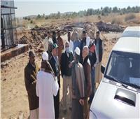 مطروح تبحث الاستفادة من بئر المياه العميقة بأصغر قرية مصرية