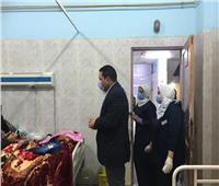 مرور مفاجئ لوكيل «صحة المنوفية» على مستشفى بركة السبع