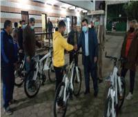 تسليم دراجات المرحلة الثالثة من مبادرة «دراجتك.. صحتك» ببني سويف