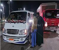 حملة لمتابعة التزام المواطنين بارتداء الكمامات بالأقصر