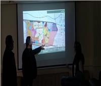 رئيس جهاز حدائق العاصمة يناقش المخطط الاستراتيجي العام للمدينة