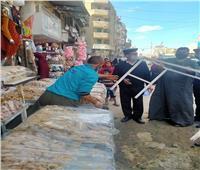 سرور: استمرار حملات رفع الإشغالات بأشمون   صور