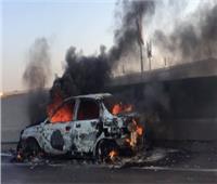 بعد إطفاء الحريق ..عودة الحركة المرورية لطبيعتها بطريق «مسطرد - أبو زعبل»