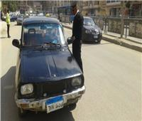 ضبط وتحرير 1376 مخالفة مرورية بالإسماعيلية
